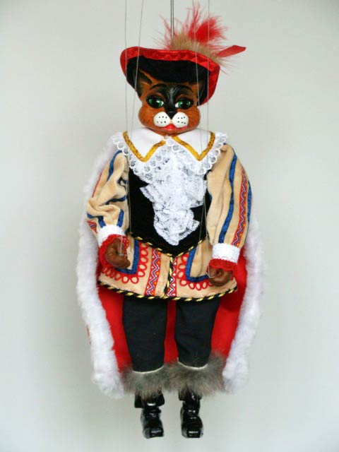 Puss in Boots, marionette puppet