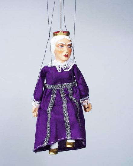 Queen , marionette puppet