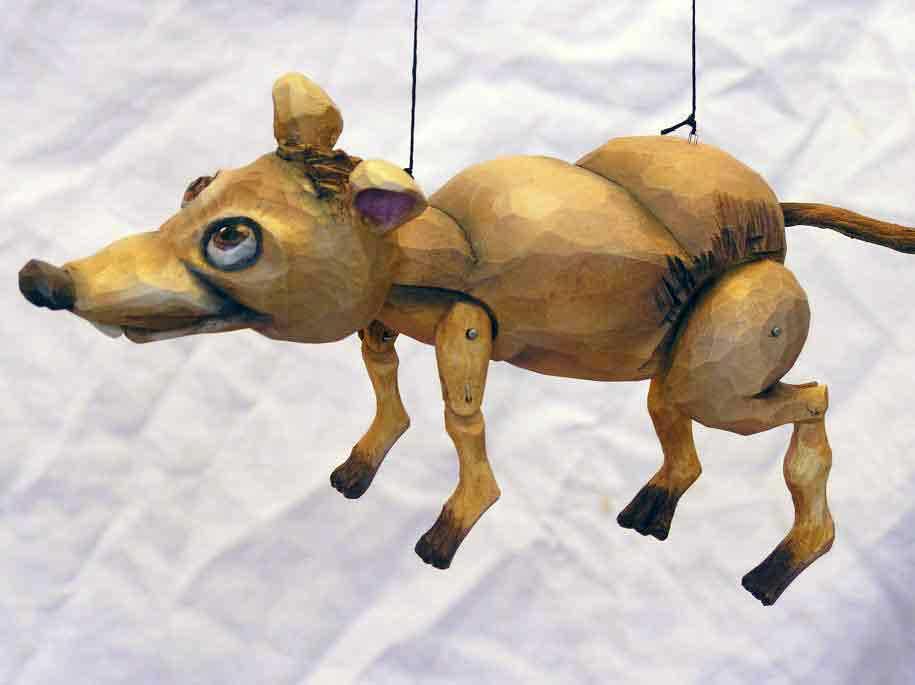 Rat ,  marionette puppet