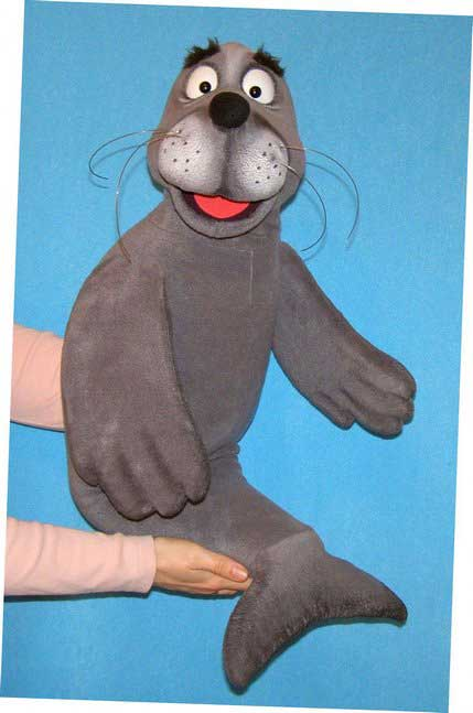 Seal,  puppet doll