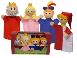 Set puppets , King family