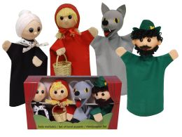 little red riding hood finger puppets buy set puppets glove finger 7815