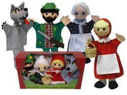 Set puppets  Little Red Riding Hood