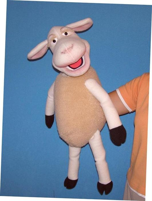 Sheep,  puppet doll