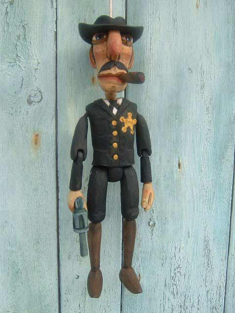 Sheriff ,  marionette puppet