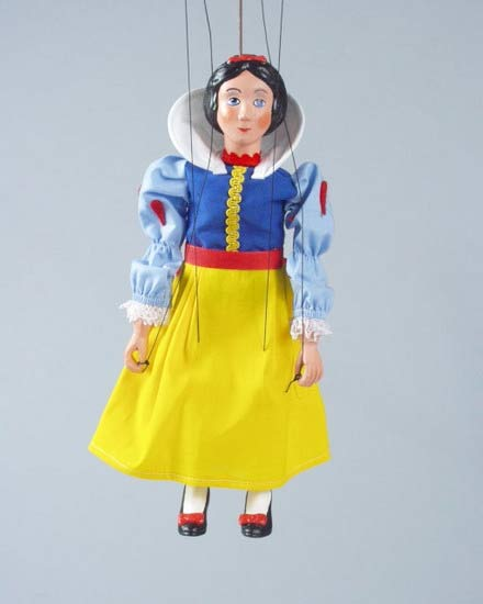 Snow Maiden , puppet marionette