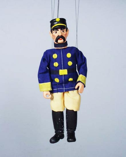 Soldier , marionette puppet