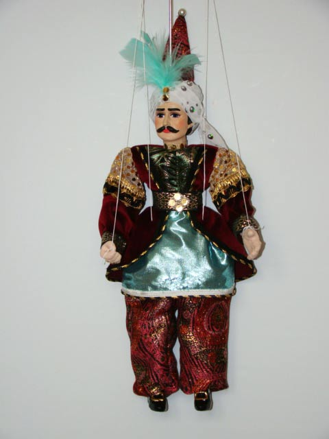 Sultan, marionette puppet