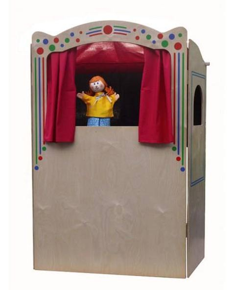 Home puppets theater