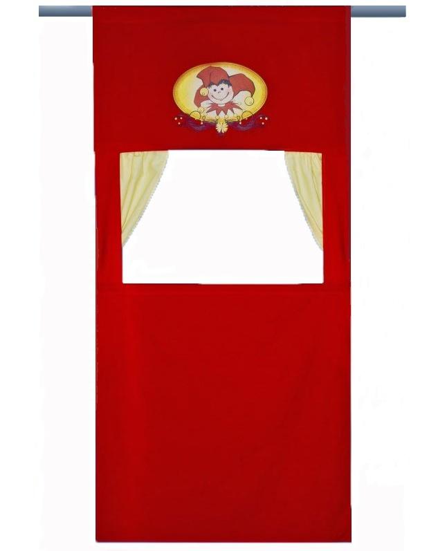 Doorway Puppet Theater Red