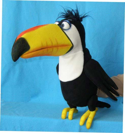 Toucan ,  puppet doll