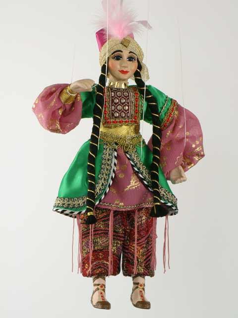 Turk, marionette puppet