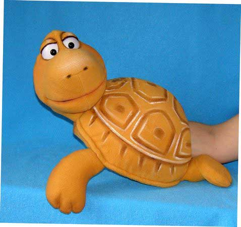 Turtle,  puppet doll