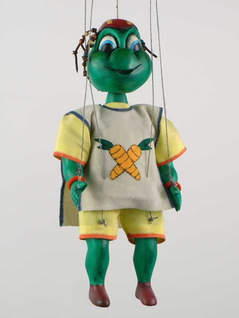 Turtle ,  marionette puppet