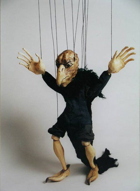 Ugly ,  marionette puppet