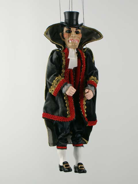 Vampire, marionette puppet