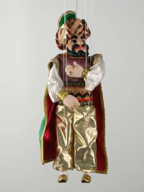 Vizier, marionette puppet