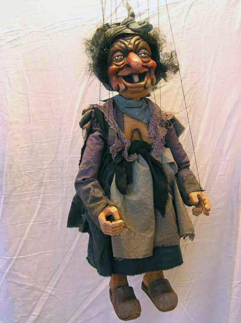 Witch ,  marionette puppet