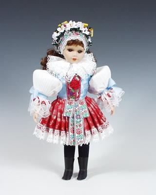 Borsice , czech doll