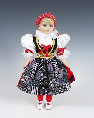 Cheb czech doll