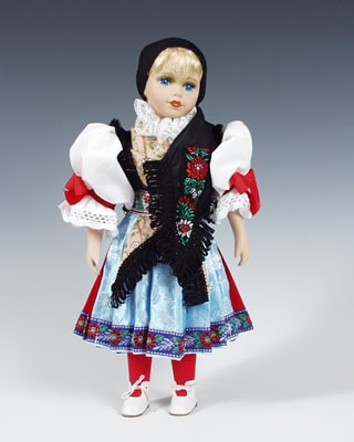 Chodka czech doll