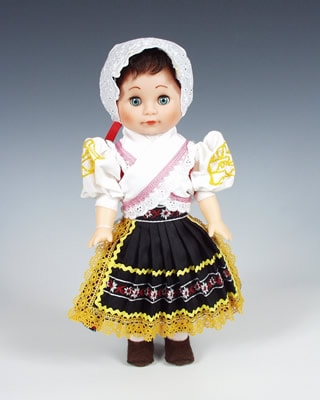 Detva, czech doll
