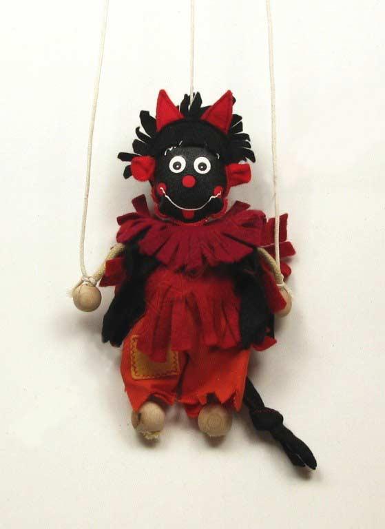 Devil ,  puppet marionette
