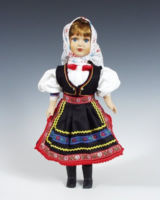Niva, czech doll