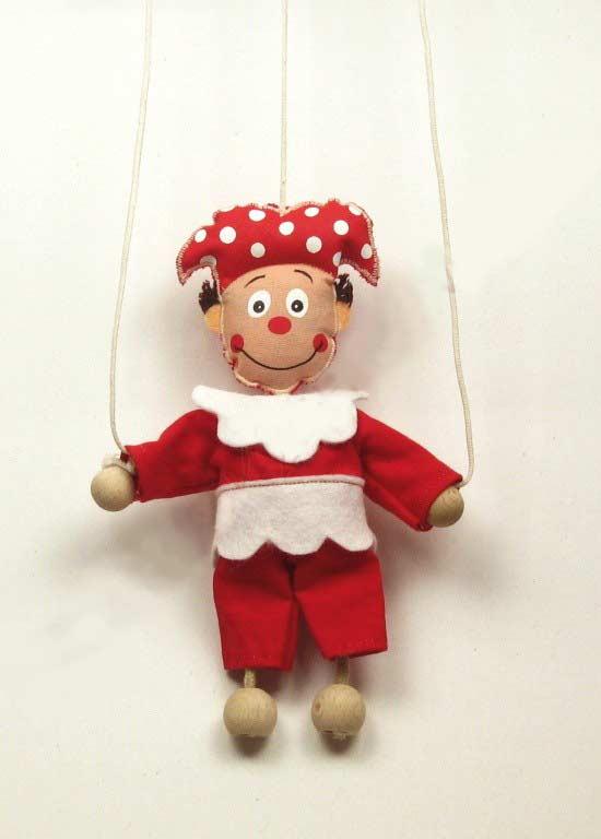 Jester ,  puppet marionette
