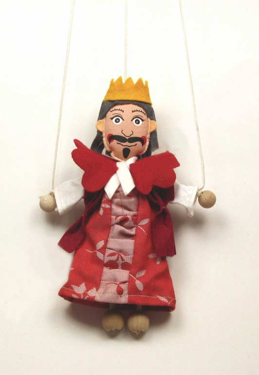 King ,  puppet marionette