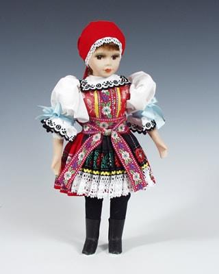 Kyjov , czech doll