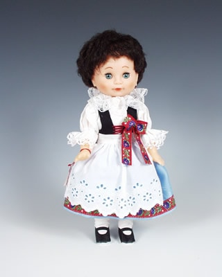 Litomysl czech doll
