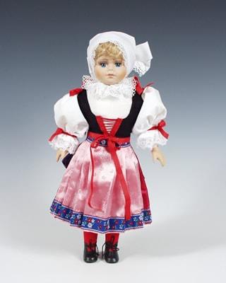 Plzen czech doll