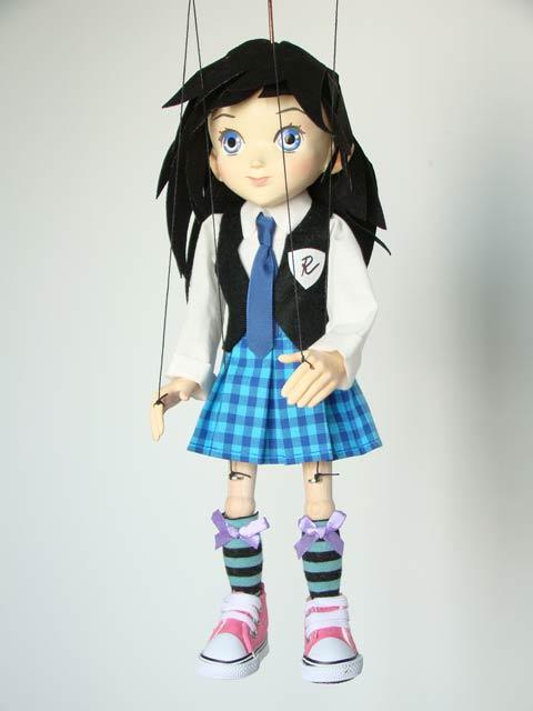 Anime student marionette