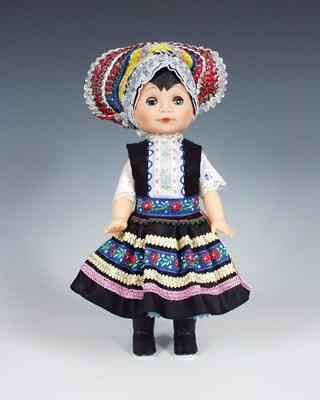 Tekov czech doll