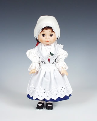 Telc, czech doll