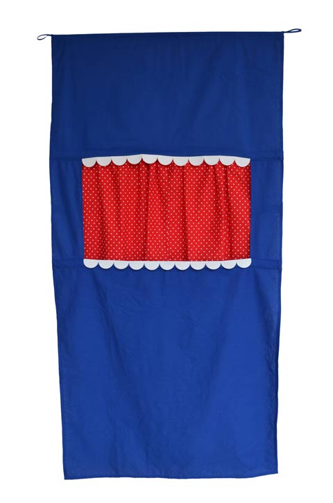 Doorway Puppet Theater blue