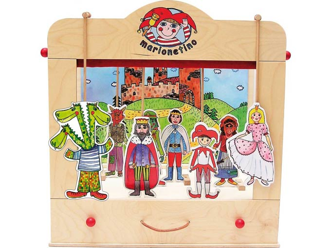 The universal  wooden puppet theater