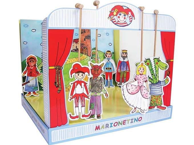The universal  paper puppet theater