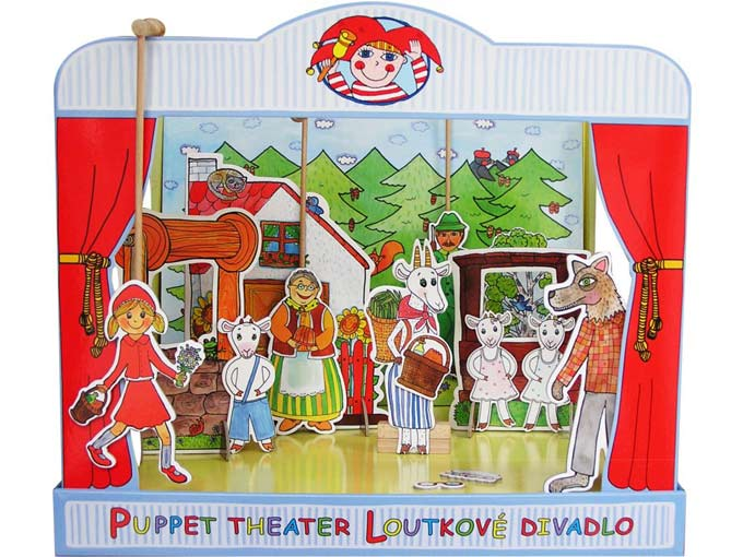 "Paper puppet theater ""Brothers Grimm"""