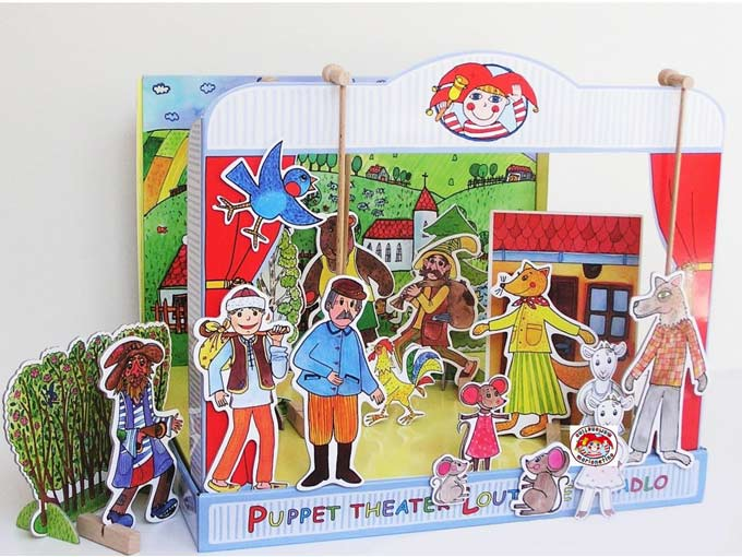 "Paper puppet theater ""Tall Story"""