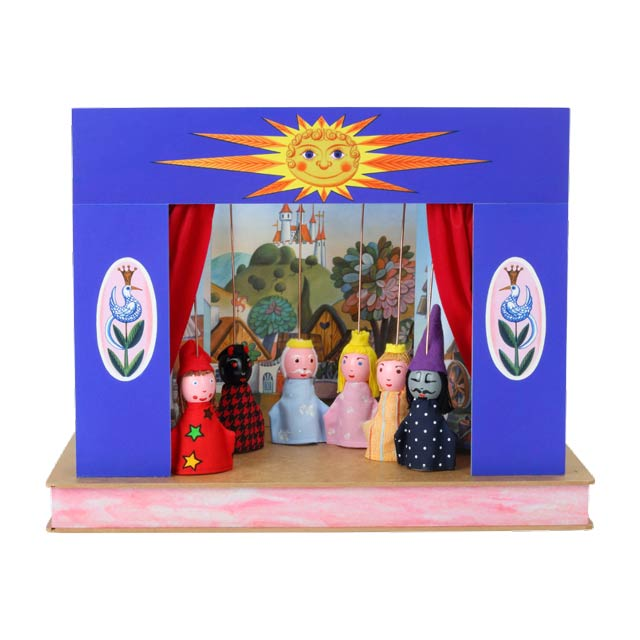 "Mini puppet theatre ""Sunshine"""