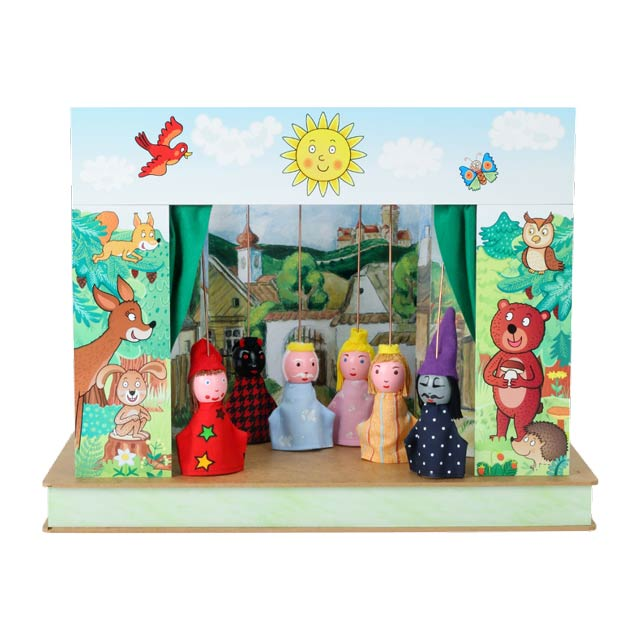 "Mini puppet theatre ""Spring"""