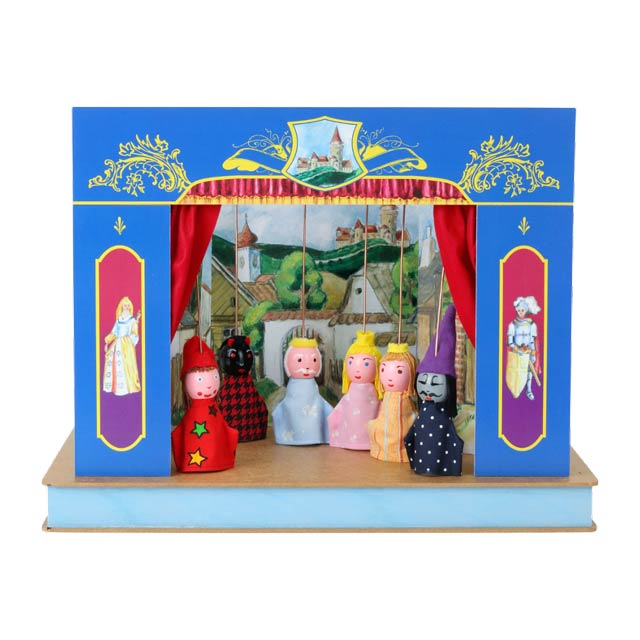 "Mini puppet theatre ""Castle"""