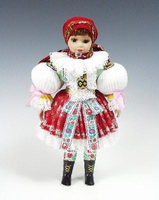 Uhersky brod, czech doll