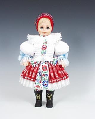 Uhersky brod , czech doll