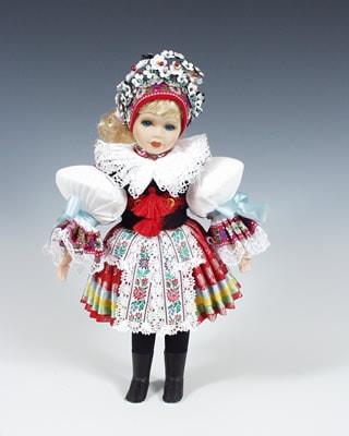 Vicnov , czech doll