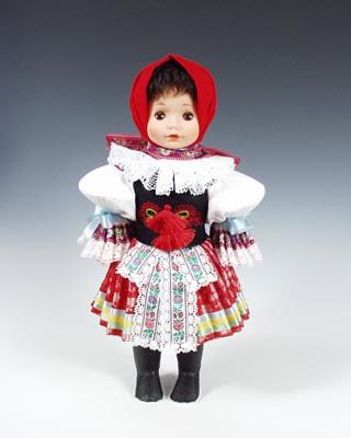 Vicnov, czech doll