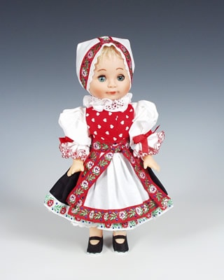 Zahori czech doll