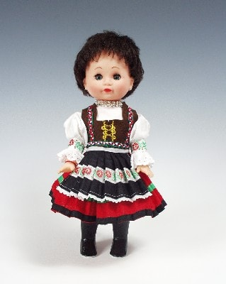 Zemplincanka, czech doll